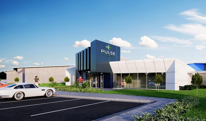 An artists' impression of the completed Pulse Data Centre in Toowoomba.