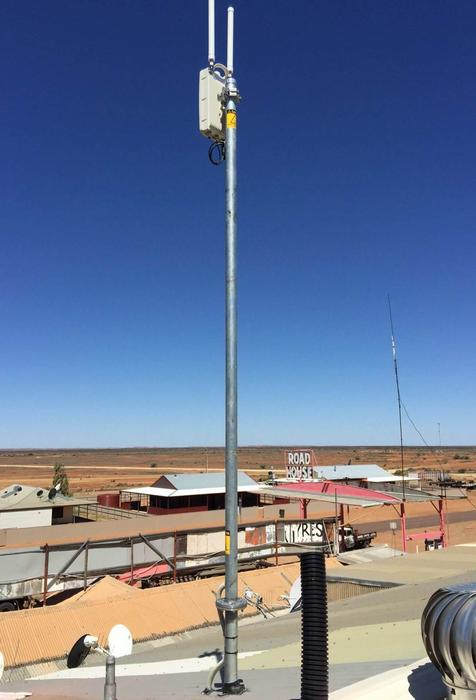 Optus small cell in Oodnadatta.